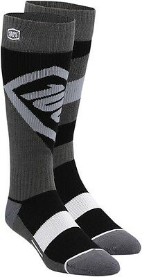 100% 24007-001-17 Torque Riding Socks Sm/Md Black
