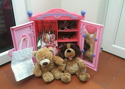 Build A Bear Wardrobe, Bears And Accessories Job Lot / Bundle Vgc