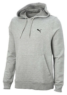 Puma Essential Fleece Mens Training Hoody - Grey
