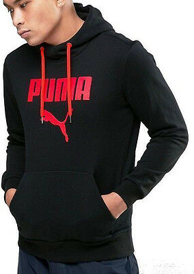 Puma Rebel Long Sleeve Mens Training Hoody - Black