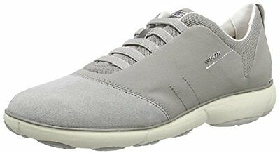Geox D Nebula C Scarpe Low Top Donna Grigio Lt Grey/Peach 41 A8J