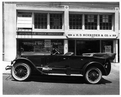 1921 Lincoln Touring ORIGINAL Factory Photograph Glass Negative oad4375