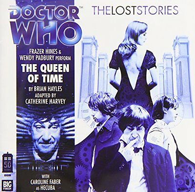 The Queen of Time (Doctor Who: The Lost Stories) New Audio CD Book Brian Hayles,