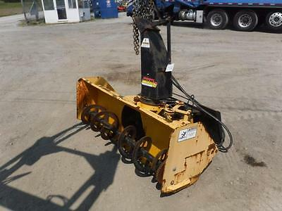 Erskine Snow Blower For Skid Steer Loaders,quick Attach, Electric Chute, S#61097