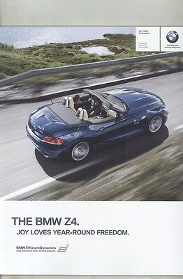 2011 BMW Z4 Roadster sDrive30i sDrive35i sDrive 35is Prestige Brochure d0959