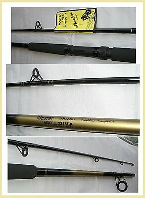 MASTER SPECTRA 10' Heavy Action Spinning Rod FREE USA SHIPPING! #3215-BK