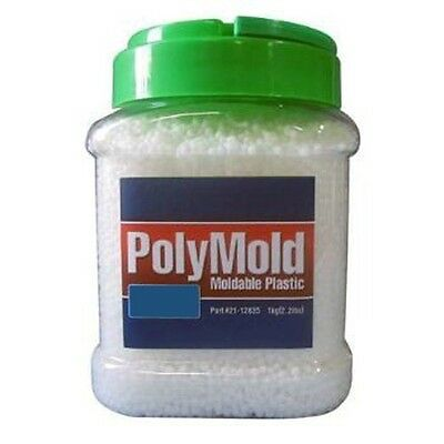 PolyMold 35.2 oz. Jar Moldable Reusable Plastic Pellets Shape Into Anything