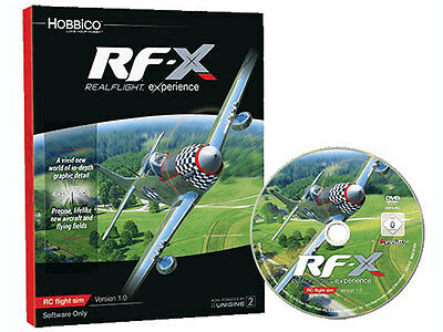 Real Flight RF-X Software Only #A-GPMZ4548