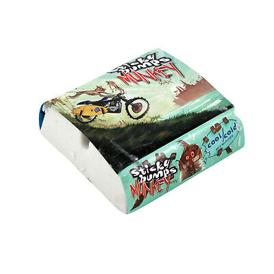 STICKY BUMPS Surf Wax MUNKEY COOL/COLD WHITE 6-Pack