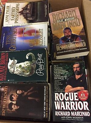 Lot of 70 Suspense Horror Books Mystery Paperback Book Lot