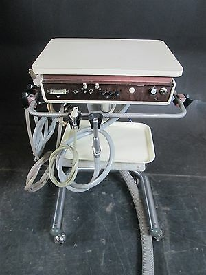 Adec 2521 Dental Delivery Cart System w/ 2  5-Hole Handpiece Hose Connections