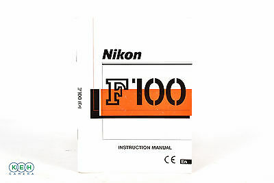 Nikon F100 Instruction Manual