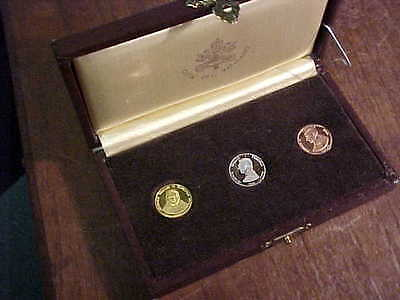1978 Vatican City 3 Medal Set including 18kt Gold