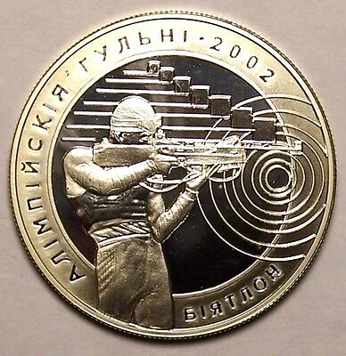 Belarus 2001 20 Roubles silver coin Olympic