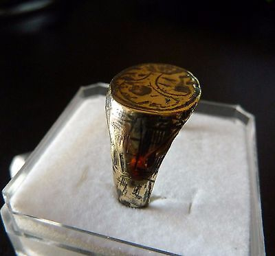 Medieval bronze  ring (a309).