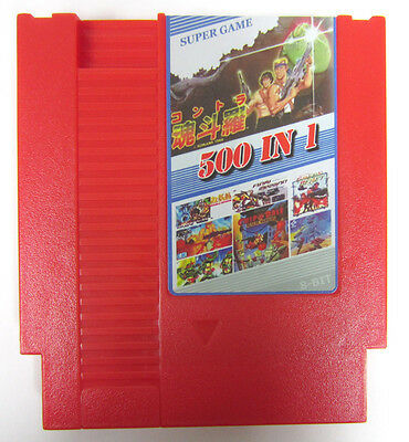 Super Games 500 in 1 (Nintendo Entertainment System) Classic NES Video Game Cart