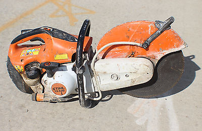 """Stihl Ts420 14"""" Gas Concrete Cut-Off Saw With Water Line Ts 420"""