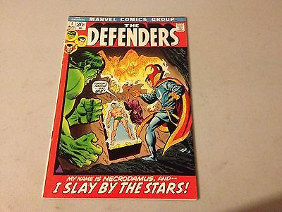 DEFENDERS #1 Marvel Bronze Age 1st Issue KEY High Grade Netflix Series Soon #A