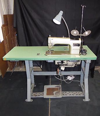 Consew 230R-1 Industrial Sewing Machine with Table and WMC Motor(390)