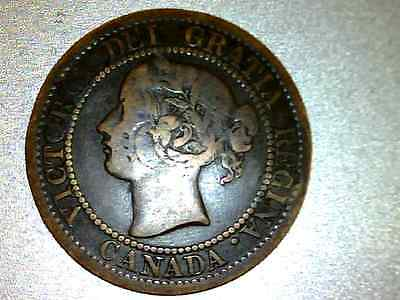 Canada Large Cent - 1859 ,       #xv272