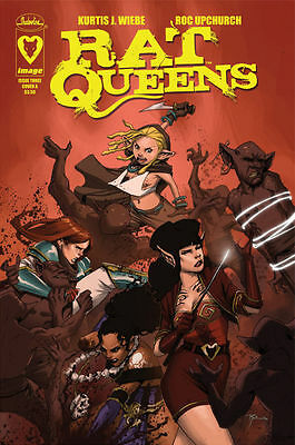RAT QUEENS #3 Cover A Image Comic 1st FIRST Print SOLD OUT Near Mint to NM+