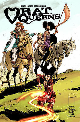 RAT QUEENS #8 Variant Cover B Image Comic 1st Print SOLD OUT Near Mint to NM+
