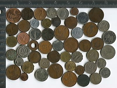 Lot of 100 various world coins [Z65]