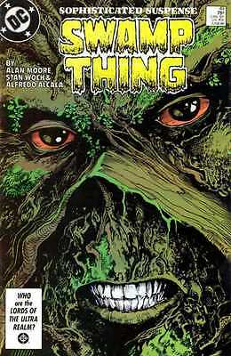 SWAMP THING #49 DC 1st Print Very Fine- VF- Justice League Dark NEWSSTAND