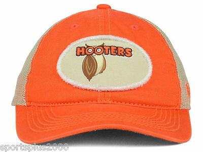 Hooters Rumble Trucker Cotton Distressed Snapback Cap Hat - 3-Day Auction # 1004
