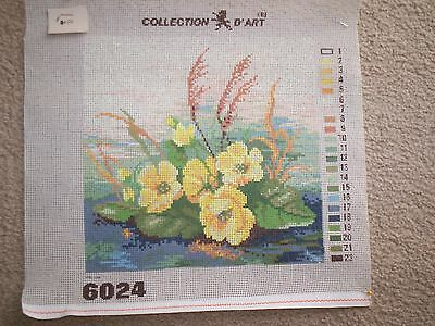 Primulas?? X 1 Only Vintage Printed Tapestry Canvas - Collection D*art Design