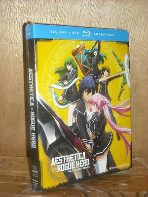 Aesthetica of a Rogue Hero: The Complete Series (Blu-ray/DVD, 2016, 4-Disc set)