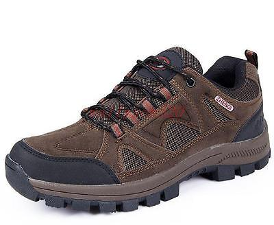 Mens Outdoor Hiking Walking Sports Athletic Running Shoes Trainers Trail Breath