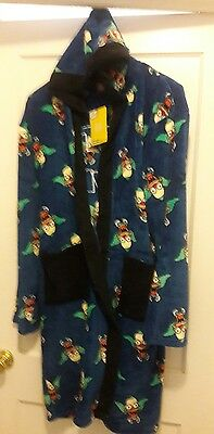 THE SIMPSON'S Krusty The Clown Robe - New High Quality Licensed Size LARGE