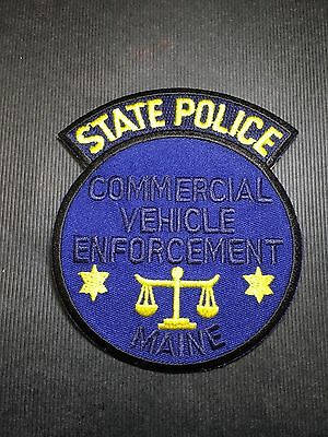Maine State Police Commercial Vehicle Enforcement  Shoulder Patch