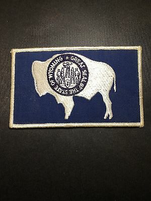 Great Seal Of The State Of Wyoming  Shoulder Patch