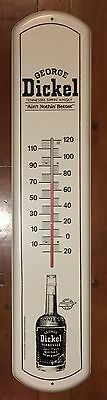 Vintage Large George Dickel Tennessee Whiskey Thermometer 1980s Old Stock