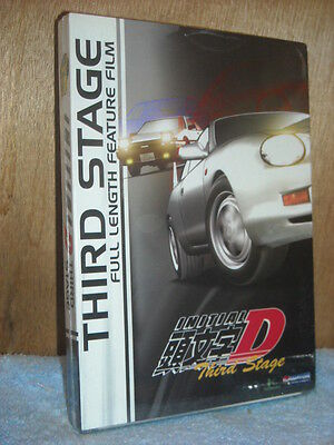 Initial D: Third Stage (DVD, 2010) anime