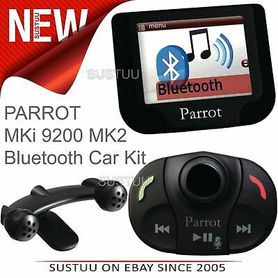 Parrot MKi 9200 MK2 Bluetooth Mobile Phone Handsfree Car Kit│USB│iPod Connection