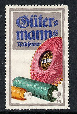 Germany Sewing Thread advertising poster stamp