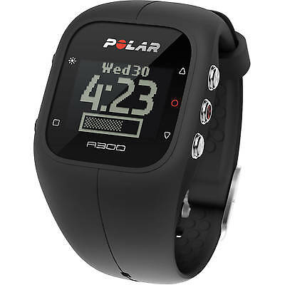 Polar A300 Fitness Activity Monitor Tracker Black Running Sports Watch 90051950