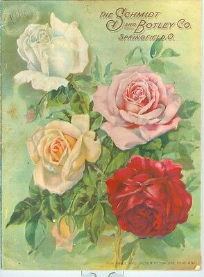 Early 1900 Schmidt & Botley Seed Catalog