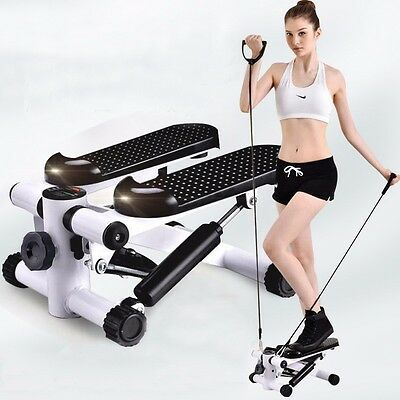 Cool Stair Stepper Exercise Machine Hydraulic Climber Aerobic Fitness Equipment