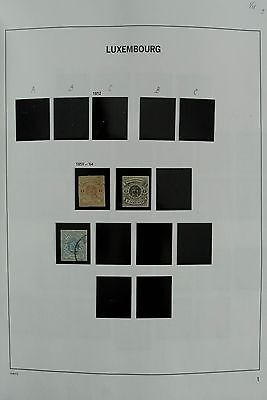 Lot 27076 Collection stamps of Luxembourg 1859-2007.