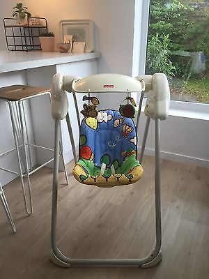 Fisher price musical projection Swing, Baby Swing, Baby Bouncer