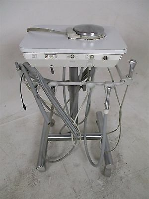 DCI Dental Delivery System Cart with  2 5-Hole Handpiece Hose Connections