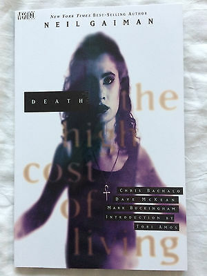 Death The High Cost Of Living By Neil Gaiman Paperback Read Once Sandman