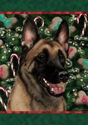 Large Indoor/Outdoor Holiday Flag - Belgian Malinois 14251