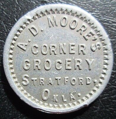 Stratford,oklahoma A.d.moore's Corner Grocery