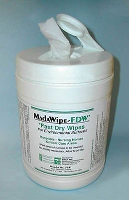 Mada Medical MadaCide FDW Plus / Wipes Tub/160 Part No.70321111