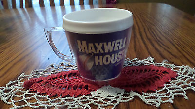 Vintage Thermo Plastic Maxwell House Coffee Cup Mug